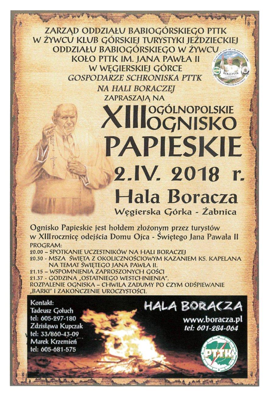 XIII Ognisko papieskie