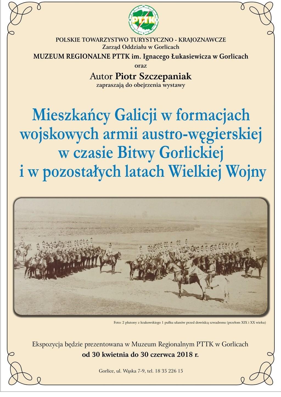 Wystawa Gorlice Piotr — zaproszenie 3