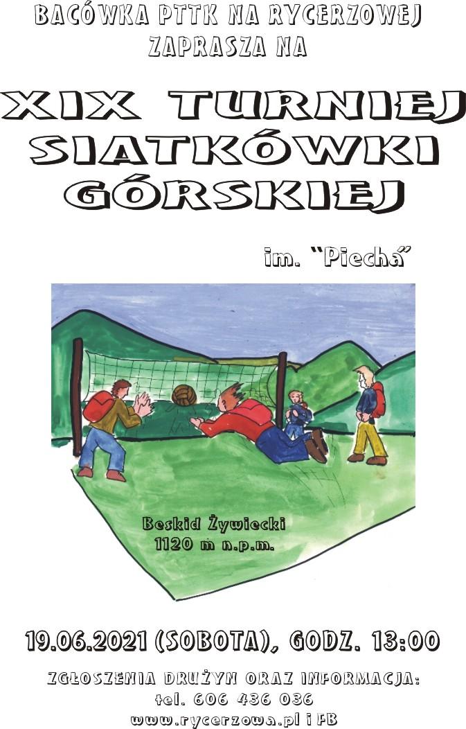 XIX Turniej Siatkówki Górskiej RYCERZOWA